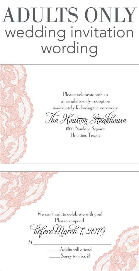 25  best ideas about Wedding invitation wording on