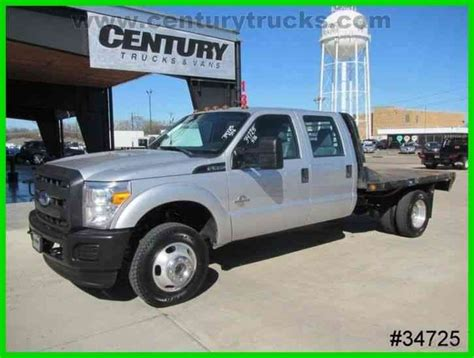 F350 Bed by Ford F350 4x4 Drw Crew Cab Flat Bed 2014 Flatbeds