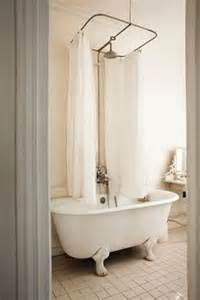 Over Bath Shower Rails Splish Splash On Pinterest Tubs Vintage Houses And Bath