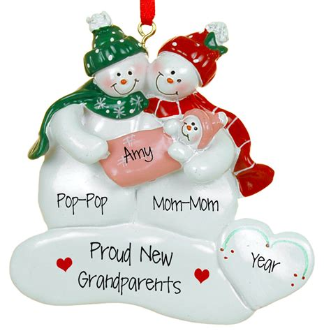 personalized grandparents ornaments 28 images best 28