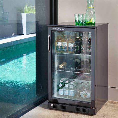stylish glass door fridge to see what is inside amaza design
