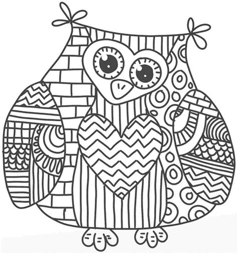 mandala coloring pages owl owl mandala coloring page characters animals coloring