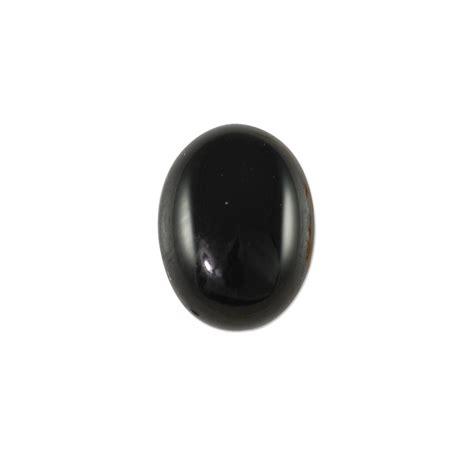 black onyx black onyx oval cabochon 8x6mm