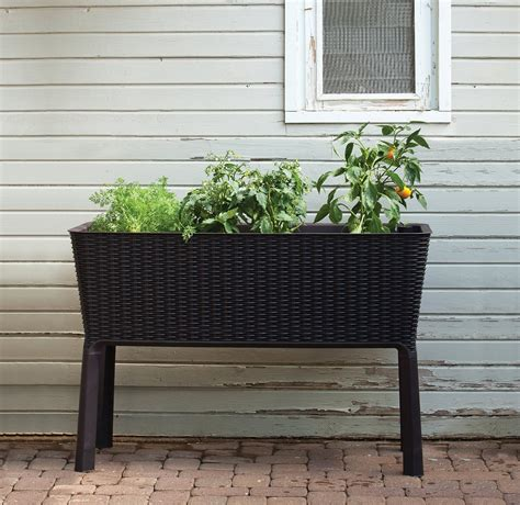 Keter Planter Box by 7 Raised Garden Bed Kits That You Can Easily Assemble At