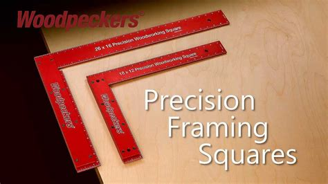 woodpeckers precision framing squares retired onetime