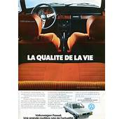 1977 VW Passat French Advertisements  VWDashercom