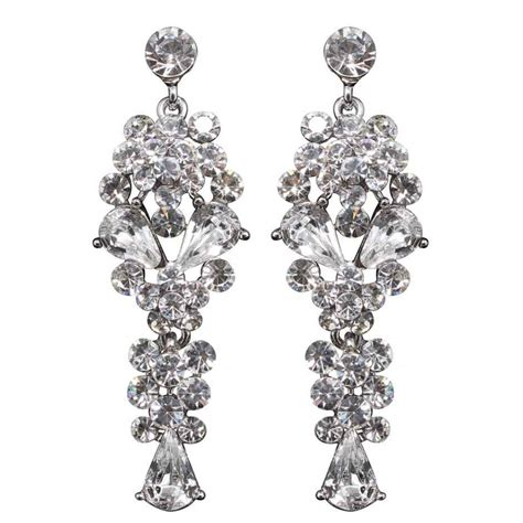 Silver Chandelier Earrings Uk Silver Chandelier Earrings Uk Ingenious Silver Chandelier Earrings With Hammered Ovals