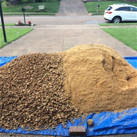 Ton Of Gravel Delivered Nature S Earth Products Landscaping 5471 Summer Ave