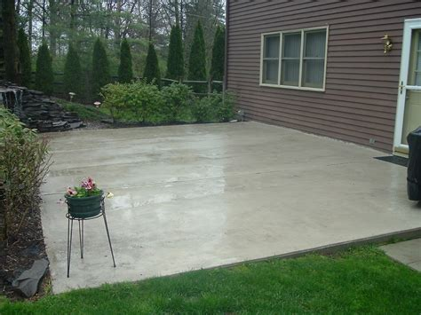 How To Clean Colored Concrete Patio by D Orazio Contracting Patios
