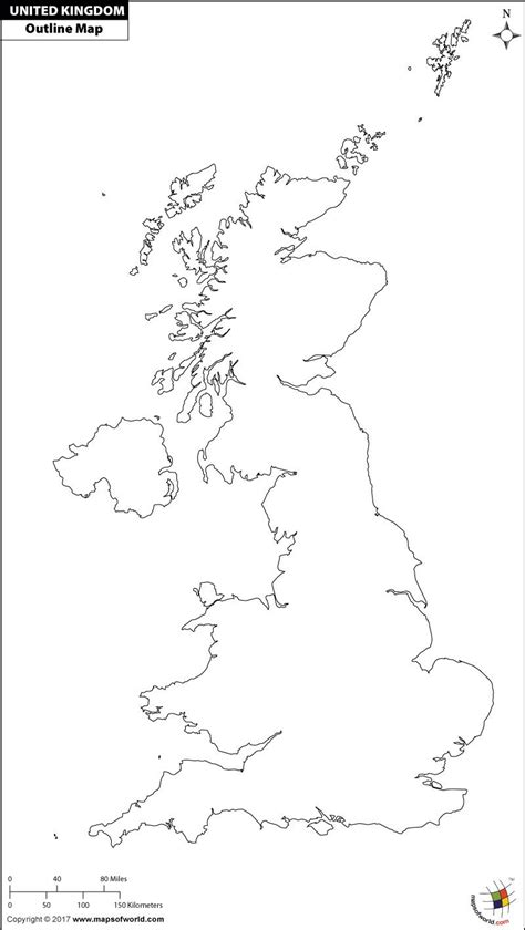 template of uk map uk outline map for print maps of world outlines