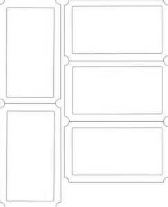 36 editable blank ticket template examples for event thogati