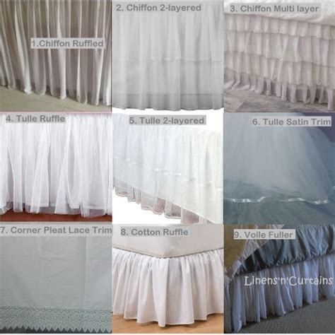 12 inch bed skirt white bed skirt 12 inch drop