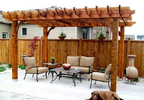 pergolas design 15 designs of pergolas to shade seating areas home