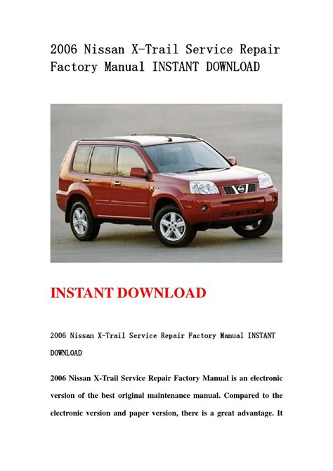 nissan x trail owners manual pdf download autos post nissan 2005 xtrail owners manual pdf download autos post