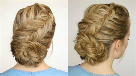 how to dutch fishtail braid elsa hair youtube dutch fishtail low bun missy sue youtube