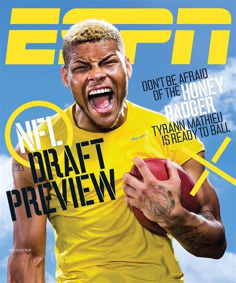 The Magazine by Espn The Magazine S Nfl Draft Issue Still Posing Espn