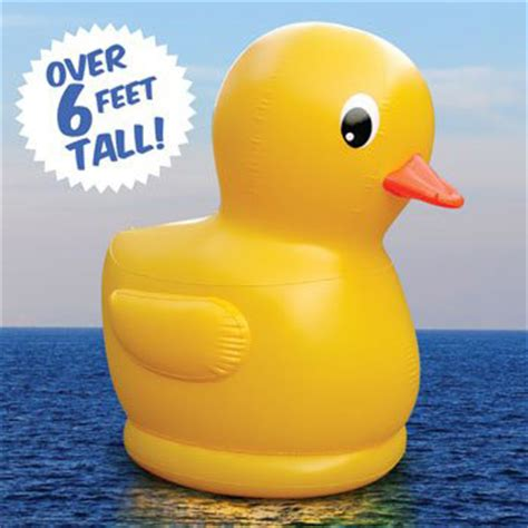 blow up rubber ducky bathtub gigantic inflatable rubber ducky the green head