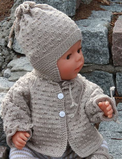 free knitting patterns for baby baby doll patterns free
