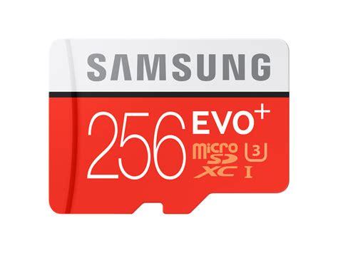 micro sd evo 256gb memory card w adapter memory