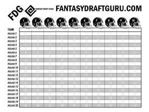 Football Draft Board Template by Buy Draft Boards Football Draft Boards