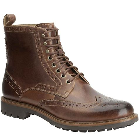 clarks boots clarks montacute lord mens lace up boots clarks from
