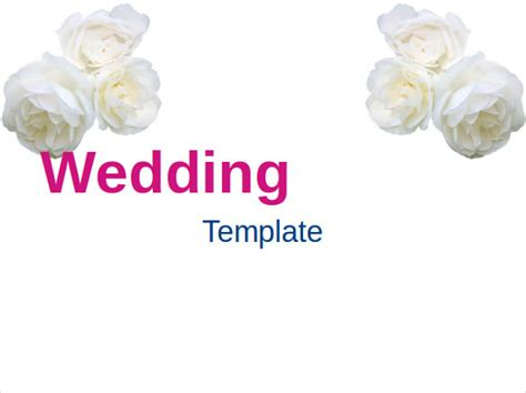 11 Wedding Powerpoint Templates Free Sle Exle Powerpoint Wedding Templates