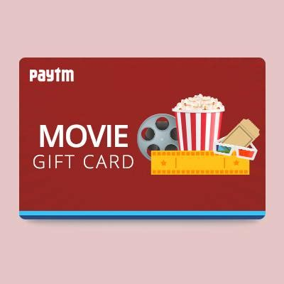 Gift Cards For Movies - buy movies gift cards and vouchers online in india paytm