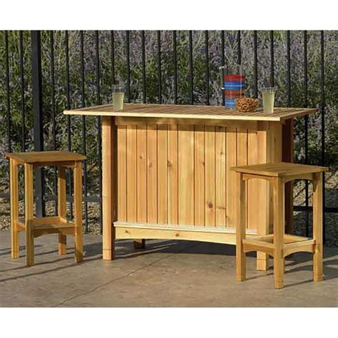 outdoor wooden bar stool plans outdoor server with stools woodworking plan from wood magazine