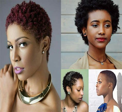 Coiffure Cheveux Courts Le Twa Ou Teeny Weeny Afro Differentes Coupes De Cheveux Femme