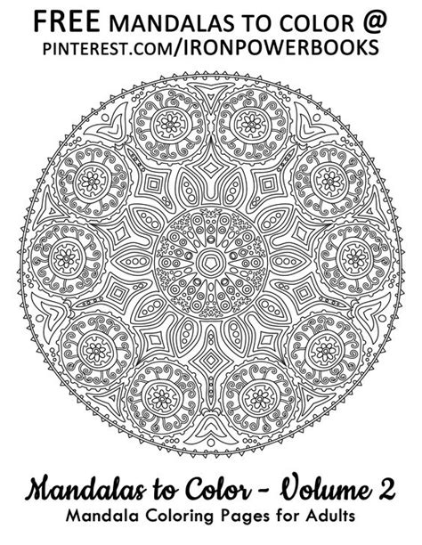 Awesome Coloring Pages For Adults Free Mandalas To Color The Awesome Mandala Coloring Pages