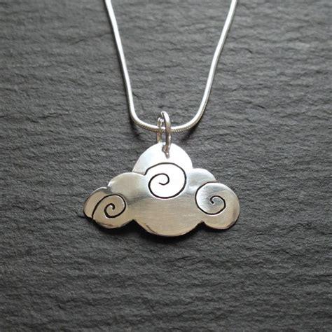Cloud Necklace cloud appreciation society handmade silver cloud necklace