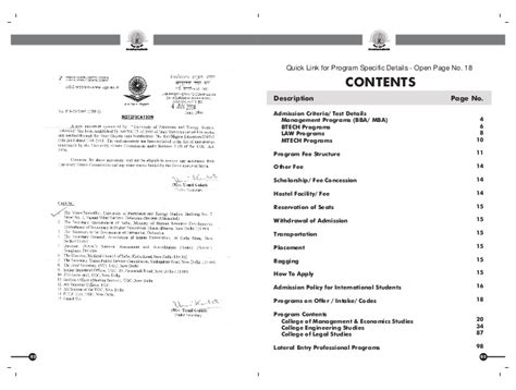 Upes Dehradun Mba Fees by Upes Information Bulletin