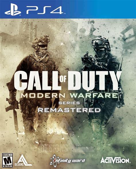Kaset Ps4 Call Of Duty Modern Warfare Remastered Call Of Duty Modern Warfare 2 Remastered Und Der Plan Bis 2019