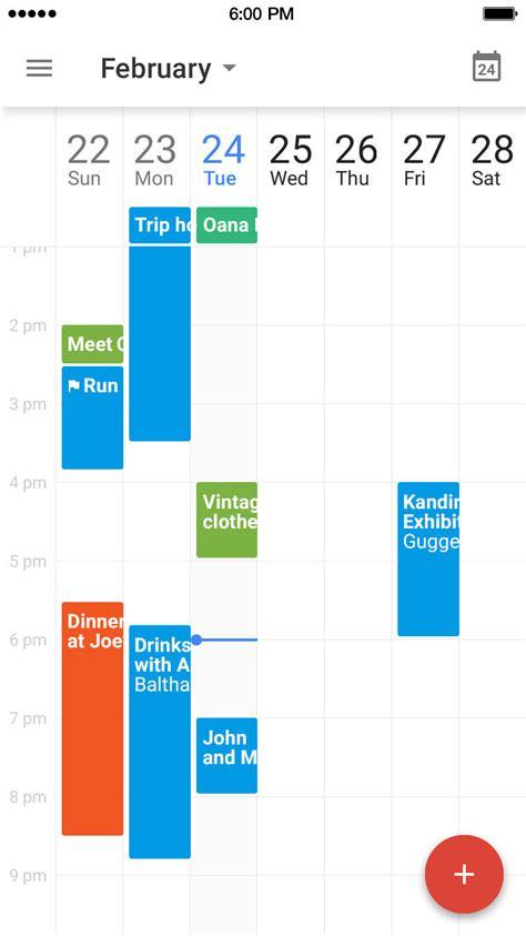 google calendar app  ios   iphone  support