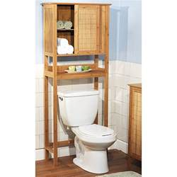 the toilet bathroom shelves bamboo the toilet cabinet bamboo products photo