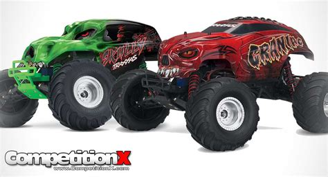 jam traxxas trucks traxxas skully and craniac 2wd trucks
