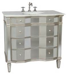 Mirror Vanity For Bathroom 36 Inch Vanity Mirrored Sink Chest Mirrored Sink Vanity