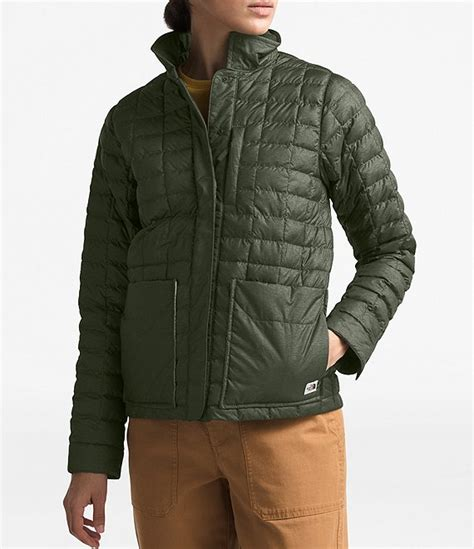 north face thermoball eco snap jacket dillards