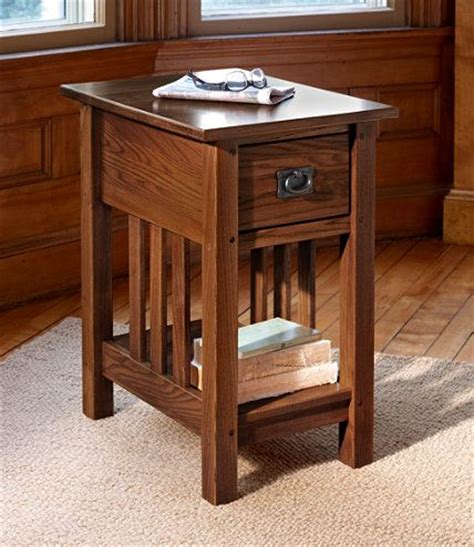 Llbean Furniture by Mission Side Table End Tables Free Shipping At L L Bean Furniture Lighting Rugs