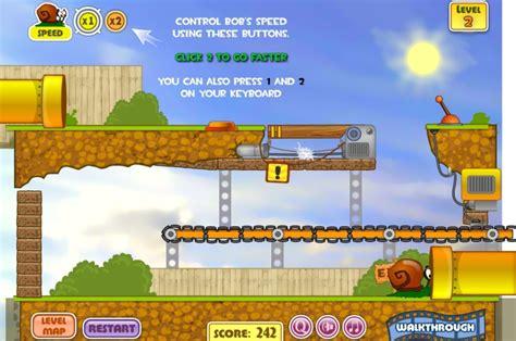 jeux bob l 駱onge cuisine jeu bob escargot gratuit en ligne