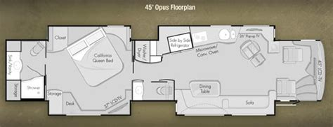 prevost rv floor plans roaming times rv news and overviews
