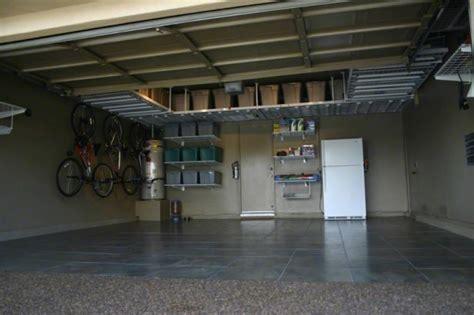 Garage Overhead Storage Pros And Cons Of Garage Hanging Storage