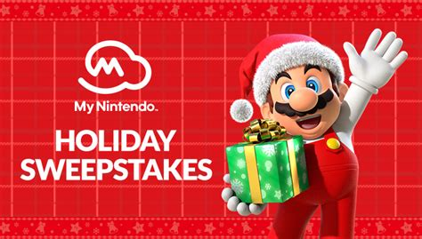 Nintendo Holiday Sweepstakes - last chance enter the my nintendo holiday sweepstakes nintendo official site