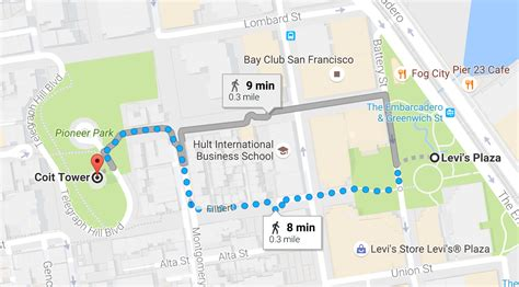 san francisco map coit tower coit tower san francisco tickets tours and views free
