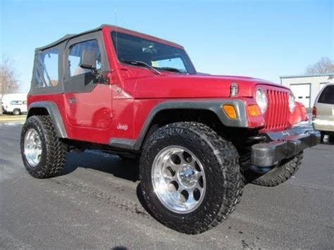 Jeep Wrangler 1999 For Sale 1999 Jeep Wrangler Se Lifted For Sale