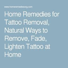 home remedies for tattoo removal removing a how much does removal cost