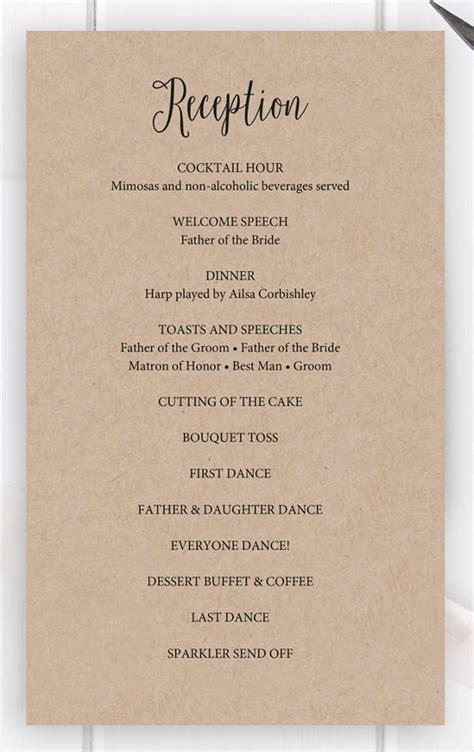 8  Wedding Party Program Templates   PSD, Vector EPS, AI