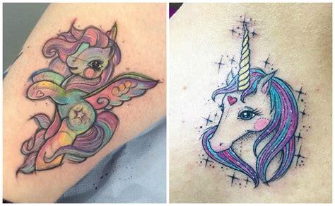 imagenes de tatuajes de unicornios tatuajes de unicornios dise 241 os y significados del caballo