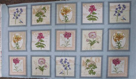 country quilting cotton sewing fabric panel new