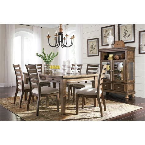 signature design by ashley chimerin casual dining room set signature design by ashley flynnter dining room group